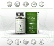 Myo Inositol Tablets PCOS 1000mg Supplement Capsule + Folate & Chromium