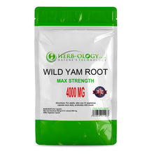 Wild Yam Capsules 4000mg Tablets Extract Root Supplement Vegan Friendly