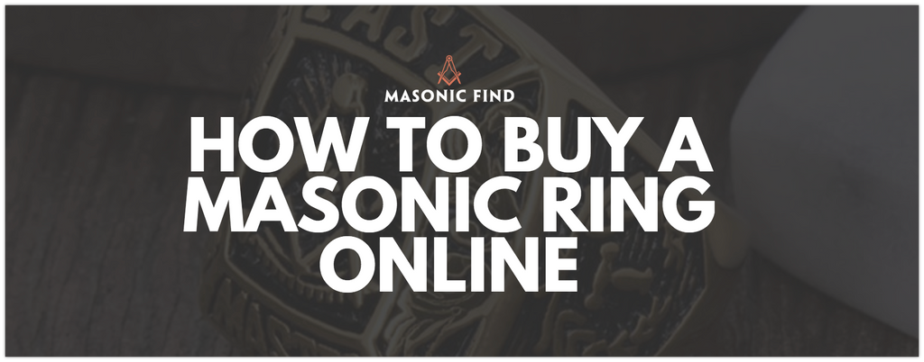 How To Buy A Masonic Ring Online