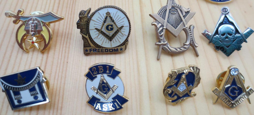 Free Mason Pin With Every Purchase Of A Masonic Gift