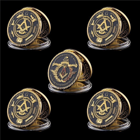 "5 Piece ""The Great Brotherhood"" Coin (Clearance Sale)"