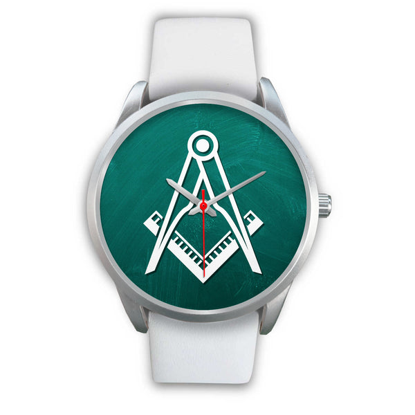 The Temple Green Masonic Wrist Watch