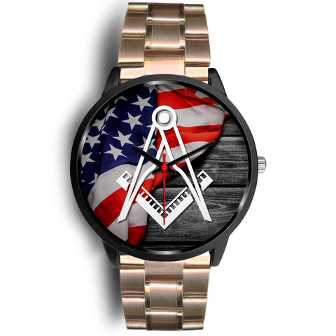 The United States of Masonry Masonic Wrist Watch