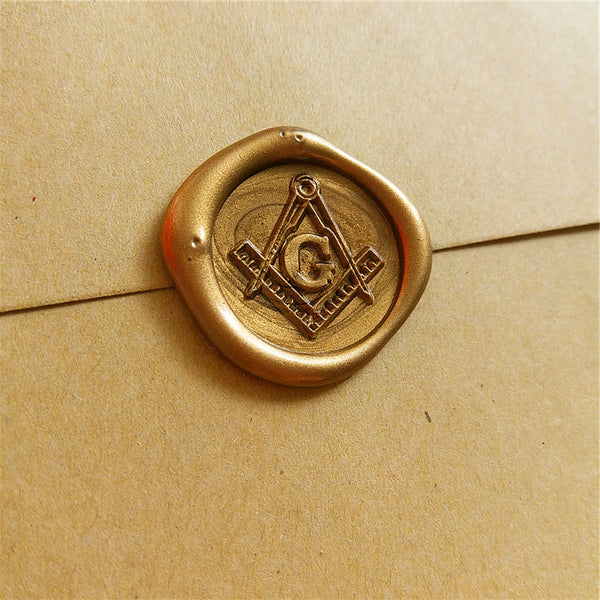 The Secretary's G Wax Seal Stamp