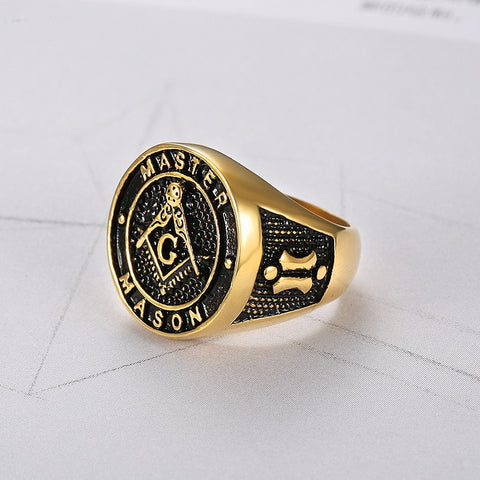 The Raised Master Mason Masonic Ring