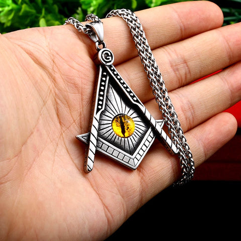 The Master Mason's Talisman (+ Free Necklace)