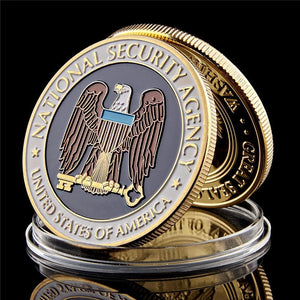 USA National Security Agency Coin