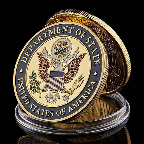 USA Department Of State Embassy Coin
