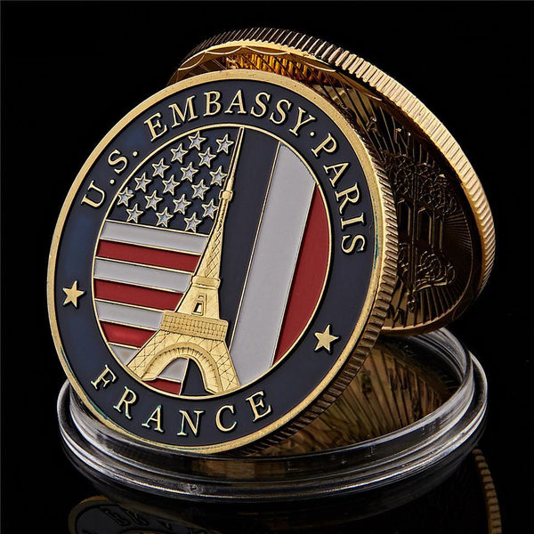 USA Embassy Coin