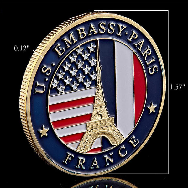 Department Of State Embassy Coin collectible