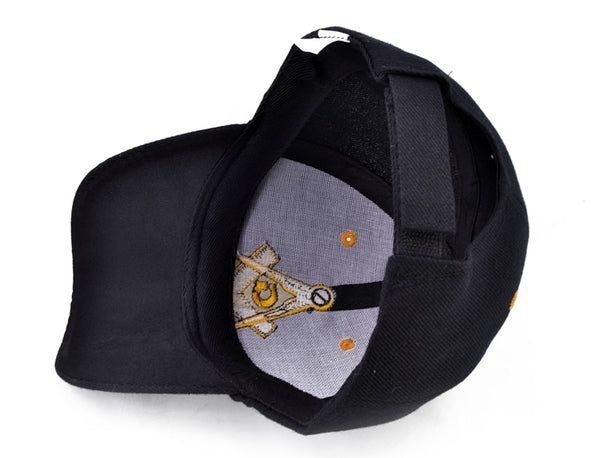 Masonic Baseball Cap inside
