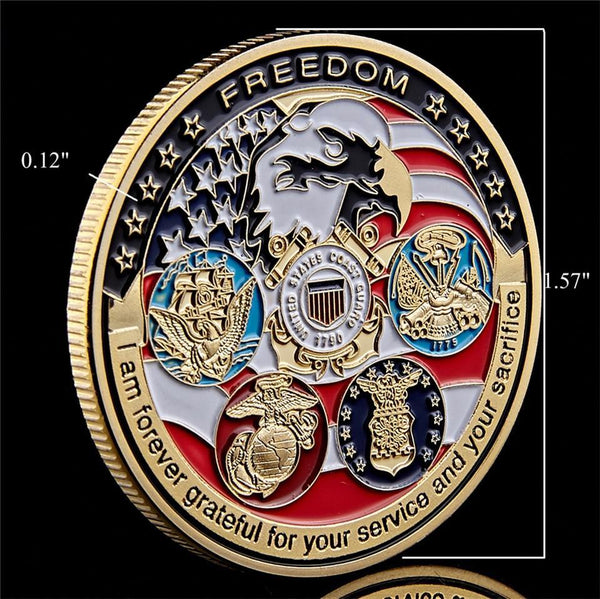 Freedom Commemorative Challenge Coin