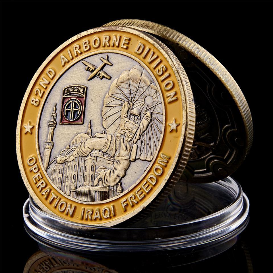 Saint George Operation Iraqi Freedom Coin