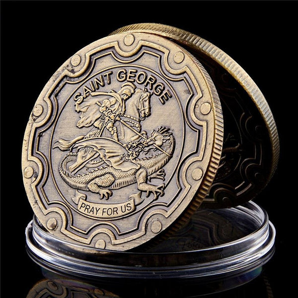 Saint George Operation Iraqi Freedom Coin set