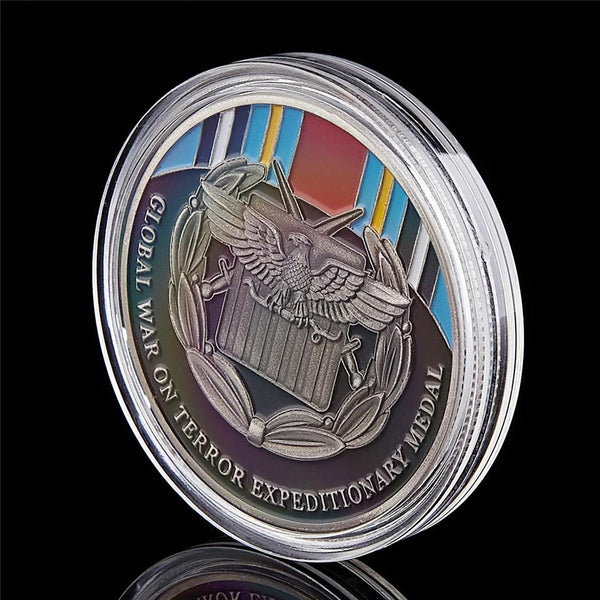 War On Terror Expeditionary Coin