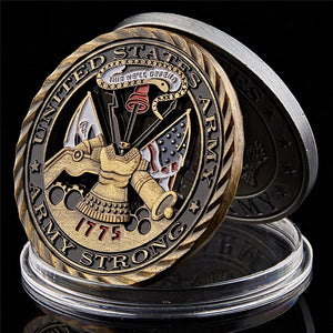 1775 US Army Air Force Core Value Coin