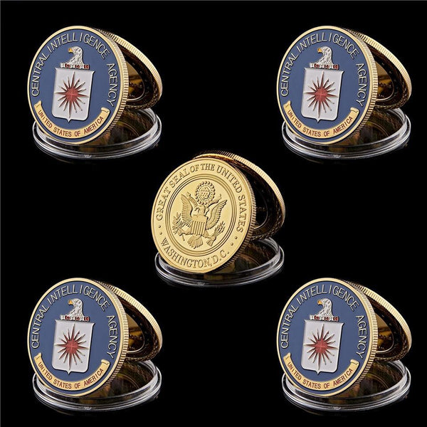 CIA Challenge Coin Set
