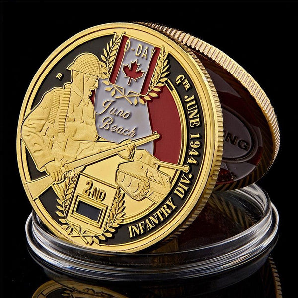 Normandy 3rd Canadian Infantry coin