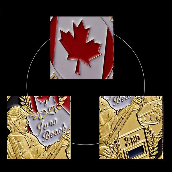Canadian Infantry coin