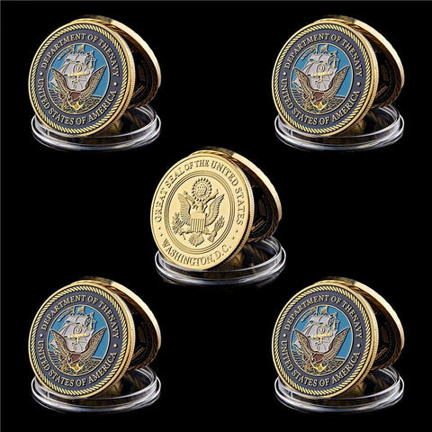 US Navy Great Seal Coin