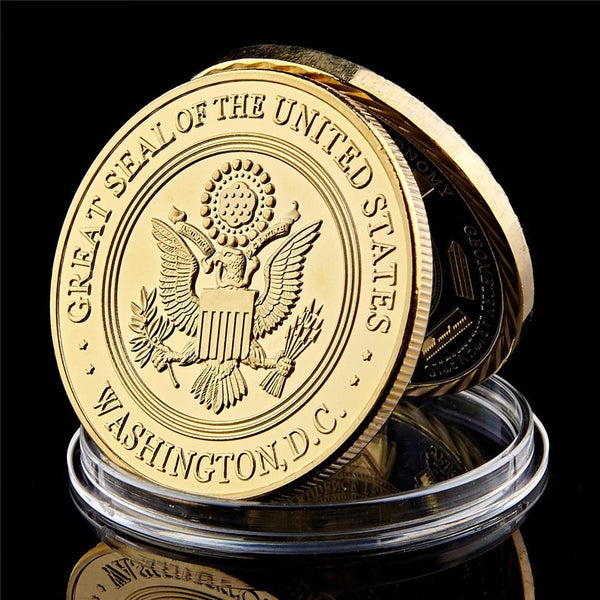5 Piece US Navy Great Seal Coin (Clearance Sale)