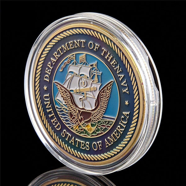 Navy Great Seal Coin