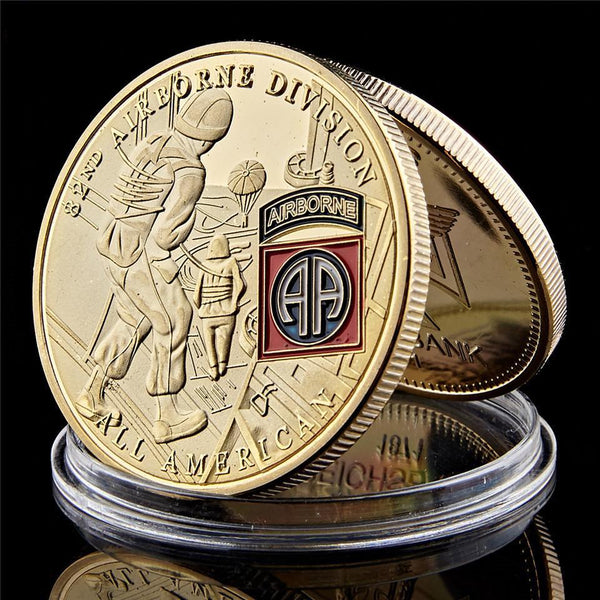 Screaming Eagles Coin