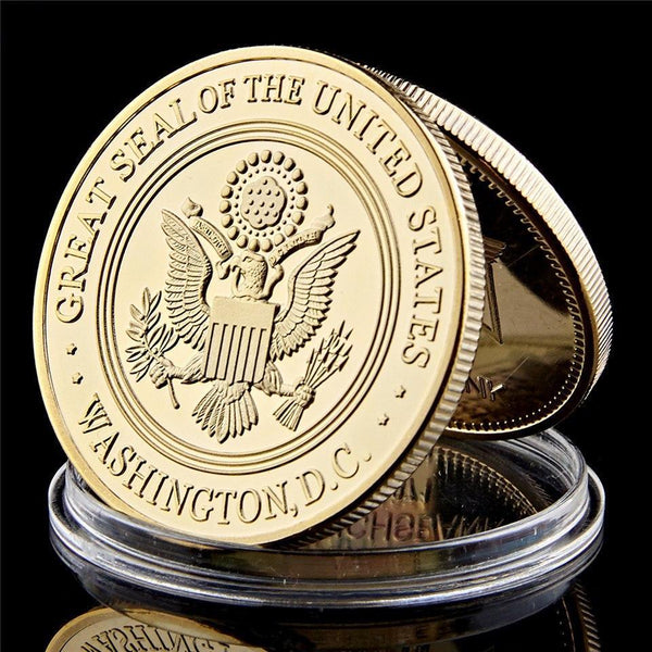 USA 82nd division coin