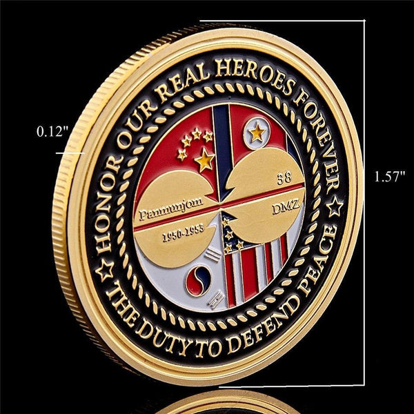 US War Veterans Coin