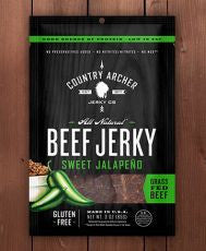 Country Archer - Sweet Jalapeno Beef Jerky