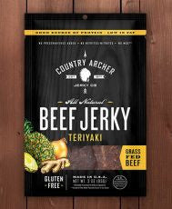 Country Archer - Teriyaki Beef Jerky