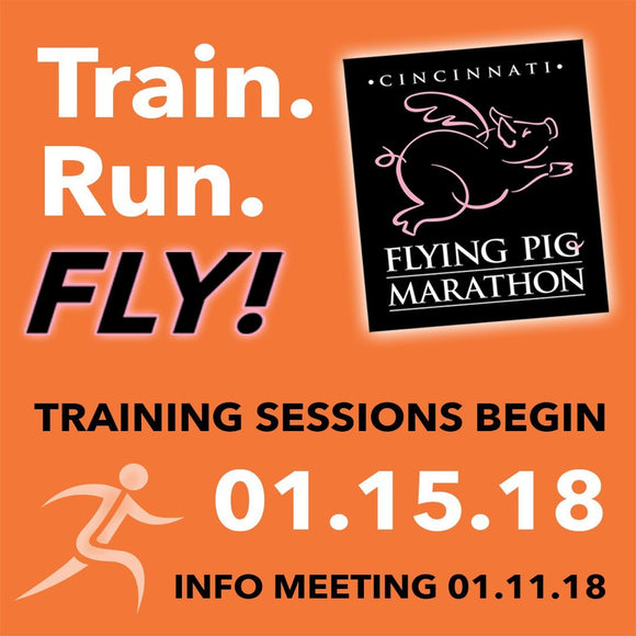 Flying Pig Half Marathon & Marathon Training Program