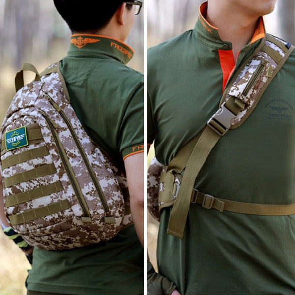 Travel Field Tactical Chest Sling Pack