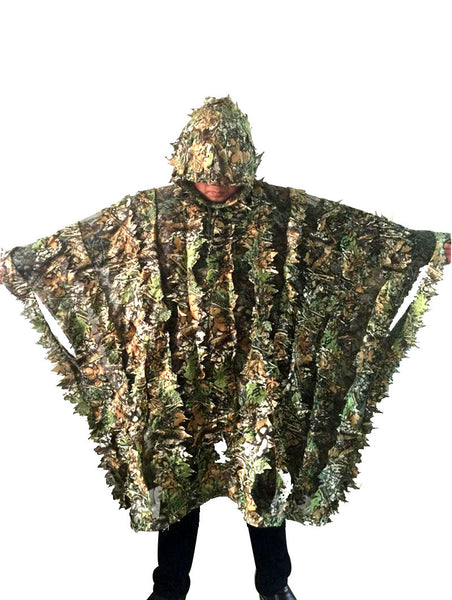 Camouflage Hunting Poncho Jungle Suit
