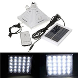 Remote LED High Bright Solar Powered Outdoor Light