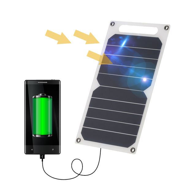 Solar Charger Panel USB Mobile