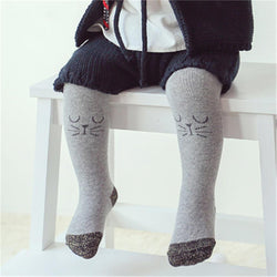 Mousey Tights Gray