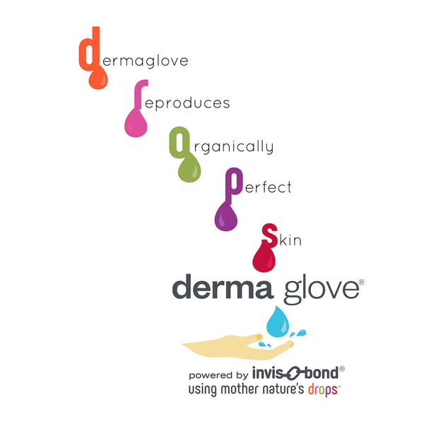 dermaglove powered by invis-O-bond using Mother Nature's d.r.o.p.s