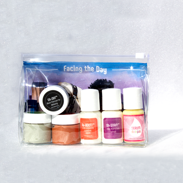 Facing the Day Facial Hygiene Travel Kit