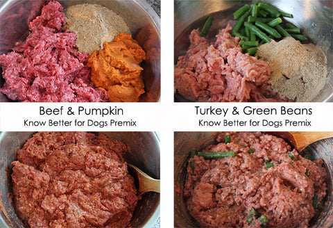 Raw Dog Food - Know Better for Dogs