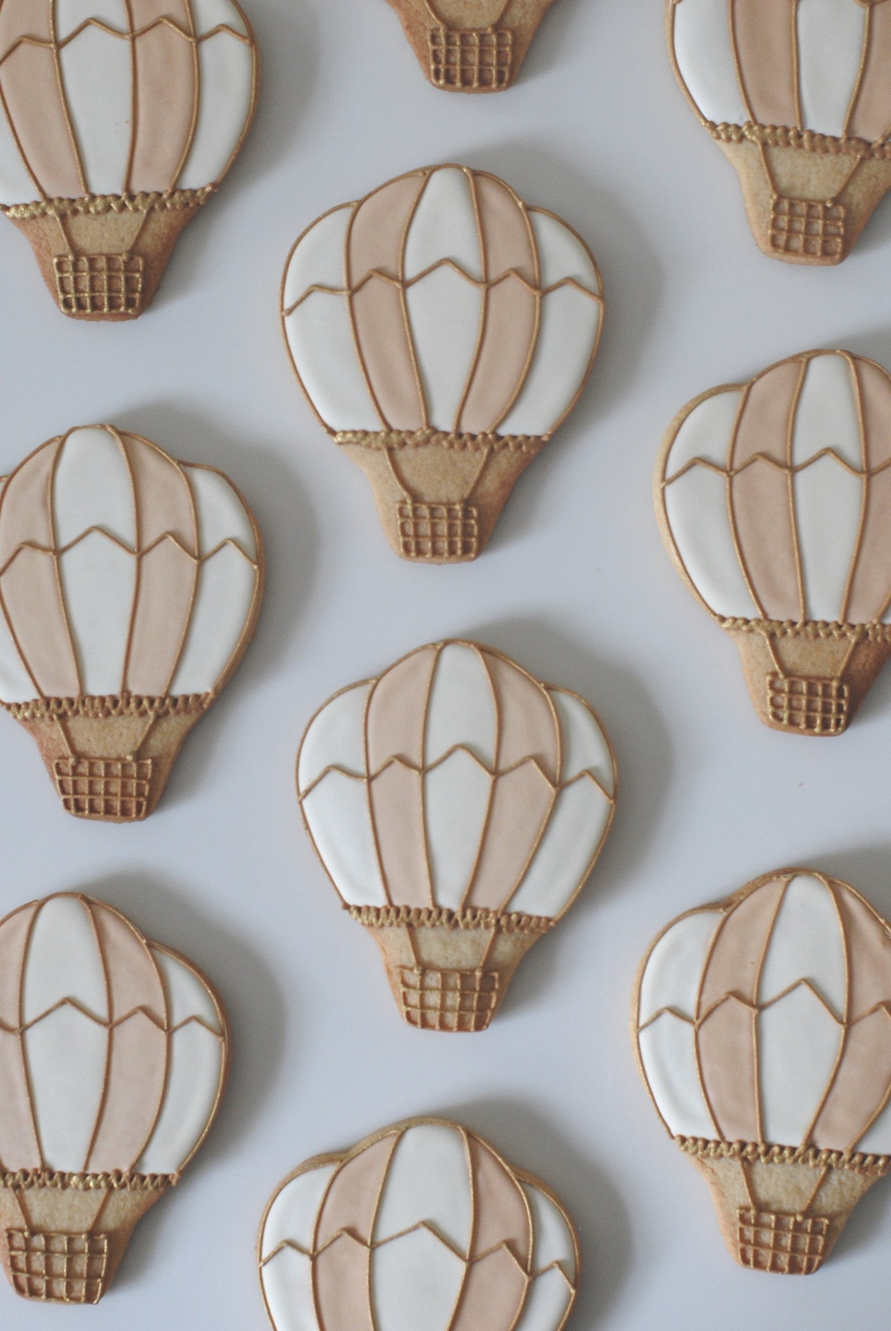 Hot Air Balloon Biscuits