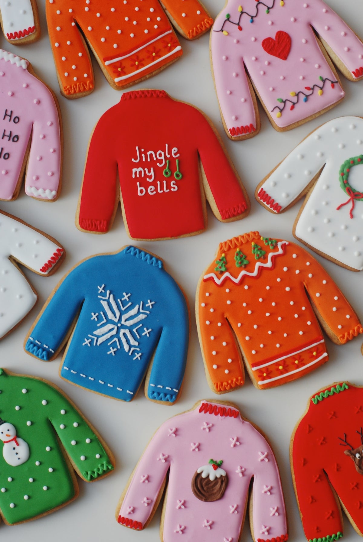 Christmas Jumper Biscuits