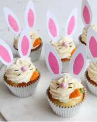 Box of Easter Bunny Cupcakes