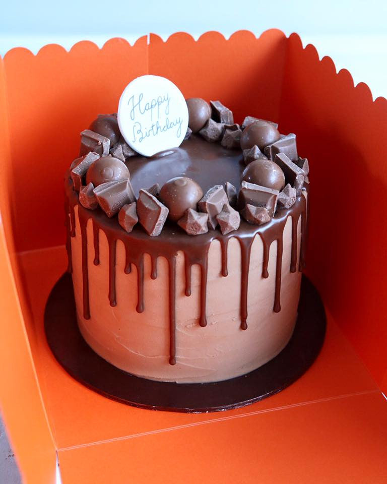 Chocolate Drip Cake in Box