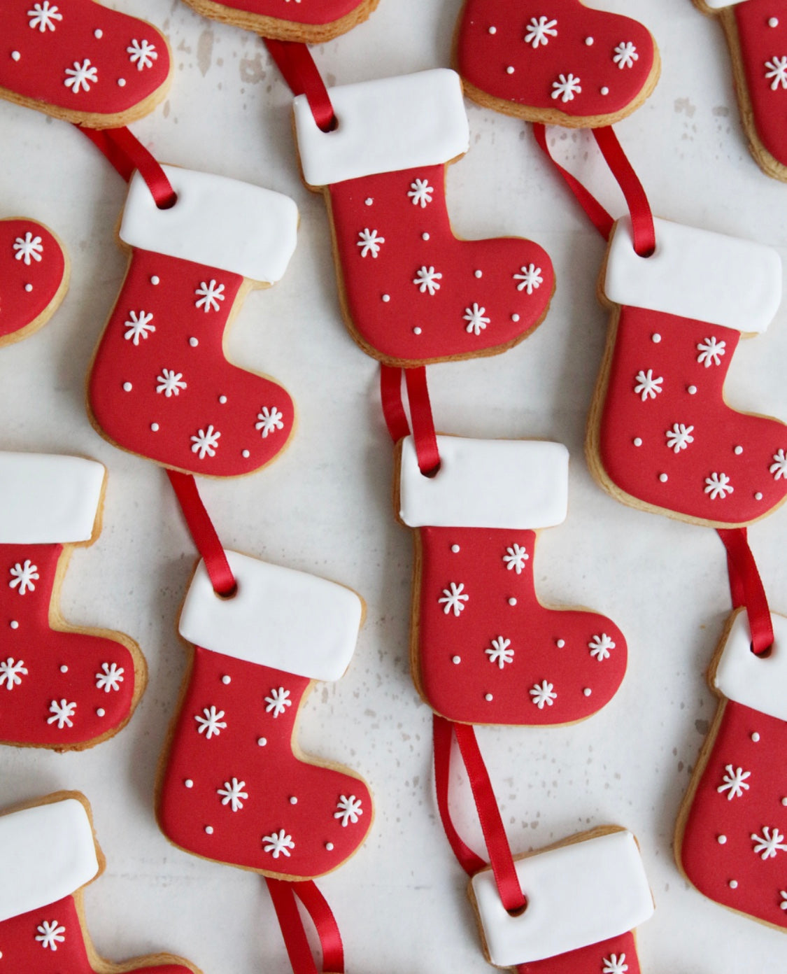 Christmas Stocking Biscuits
