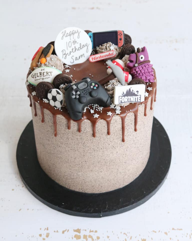 Favourite Things Drip Cake Fortnite Playstation Nintendo Sports