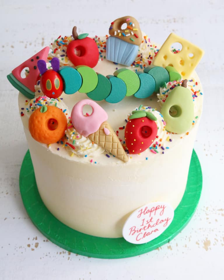 Remarkable Buttercream Celebration Cakes Afternoon Crumbs Claygate Surrey Personalised Birthday Cards Akebfashionlily Jamesorg
