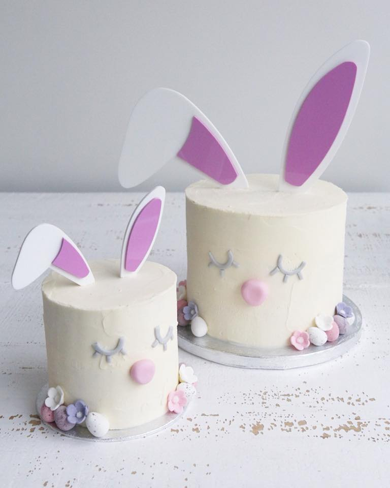 Bunny Rabbit Easter Cakes