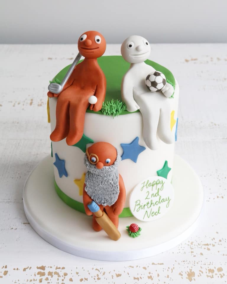 Morph Sports Kids 2nd Birthday Cake