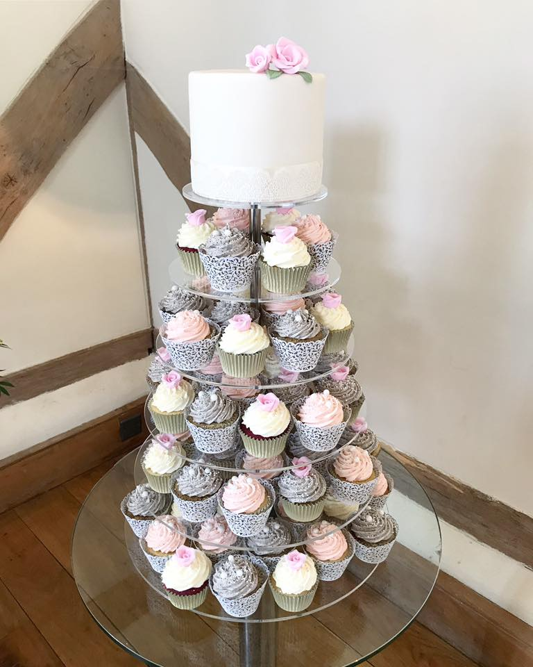 Wedding Cupcakes Towers.Cupcake Towers Claygate Surrey Afternoon Crumbs